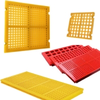 Buy cheap Pu Silica Sand Dewatering Vibrating Screen Mesh Panels from wholesalers