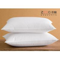 Buy cheap Hotel Comfort Pillows White Color And 100% Cotton Soft Material Szie Customize from wholesalers