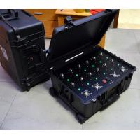 Wholesale 300W 14 Bands Convoy Bomb Jammer , Radio Frequency Disruptor 50-150M Range from china suppliers
