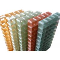 Buy cheap Colourful Fiberglass Safety Grating Sand Blast For Waterproof Grille from wholesalers