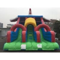 Buy cheap Commercial grade PVC 0.55mm Children's playground inflatable dry slide with factory price product