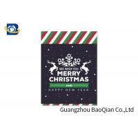 Buy cheap Pretty 3D Lenticular Christmas Cards , Custom Lenticular Business Cards from wholesalers