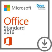 Microsoft Office Standard 2016 - Open Academic License Digital Delivery