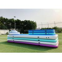 Buy cheap Eco Friendly Fitness Exercise Inflatable Gymnastics Mat For Home from wholesalers