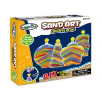 Wholesale Colorful Glitter Sand Arts And Crafts Toys For Kids Age 5 W / 4 Bottles from china suppliers