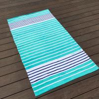 Buy cheap Sunscreen Extra Large Thick Beach Towels Blue White Stripe 35 X 68 product