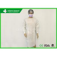 Buy cheap SMS Dental Surgical Gowns Fluid Resistant Disposable Hospital Gowns from wholesalers