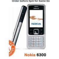 Buy cheap Nokia 6300 Silver Black Gold Red Unlocked Mobile from wholesalers