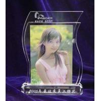 Buy cheap crystal photo frame/acrylic photo frame/glass frame/photo frame from wholesalers