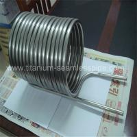 Buy cheap Stainless steel Condenser coil/ titanium Condenser coil from wholesalers