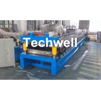 Buy cheap Main Motor Power 7.5kw Roofing Sheet Making Machine / IBR Profile Roll Forming Machine from wholesalers