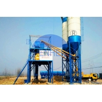 Wholesale HZS60 60 m3/h Belt Type Concrete Batching Plant, Twin Shaft Mixer Batching Plant from china suppliers