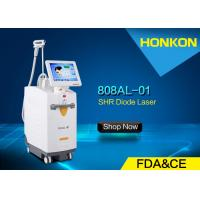 Buy cheap Safety High Speed Diode Laser Leg Hair Removal Machines Non Topical Anesthetic from wholesalers