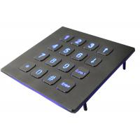 Buy cheap IP67 Numeric Keypad Top Panel Mount Backlit USB  Red Or Blue 16 Keys from wholesalers
