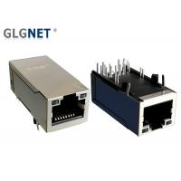 Buy cheap Small Rj45 Female Jack , Right Angle Rj45 Connector 1 X 1 Port IEEE 802.3u Standards from wholesalers