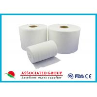 Buy cheap Extra Thick Non Woven Material / Spunlace Non Woven Fabric For Industrial , Eco Friendly from wholesalers