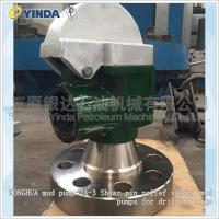Wholesale Oil Drilling Industry Mud Pump Relief Valve JA-3 Shear Pin Relief Valve For Drilling Rigs from china suppliers