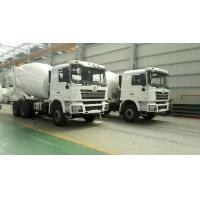Buy cheap 6*4 Drive Mode Special Purpose Vehicles SHACMAN Used Concrete Mixer Trucks from wholesalers