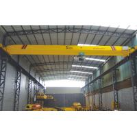 Buy cheap New 10 ton single girder workshop overhead crane with good price for sale from wholesalers