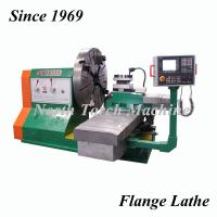 Buy cheap Stable CNC Flange Accurate Lathe Machine High Sensitive Energy Saving from wholesalers