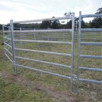 Buy cheap 6ft Height Galvanized Round Pen Corral Fence Panels For Cattle & Horse from wholesalers
