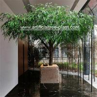 Wholesale Tabletop Large Artificial Weeping Willow Tree Restaurant Decoration 2.5m Height from china suppliers