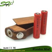Wooden Mechanical Mod E Cig .Brass Firing Pin And Bottom Cap Manufactures