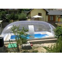 Wholesale Clear Bubble Wrap Pool Cover Waterproof Bubble Dome Tent Cover For Pool from china suppliers