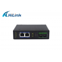 Wholesale IP30 1000BASE SC Industrial Media Converter 220VAC RJ45 from china suppliers