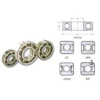 Double Sealed MR104, MR63, MR62 Miniature Gcr15 Chrome steel 2rs sealed Bearings Manufactures