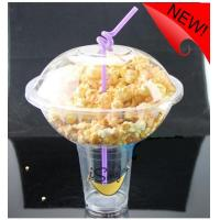 Buy cheap 500ml Plastic Disposable Smoothie Cups For Milky Tea , Popcorn Bowl 1000ml from wholesalers