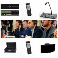 Wholesale Lightweight Wireless Interpretation System  , Conference Infrared Language Distribution System Translation Receiver 4CH from china suppliers