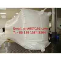 Buy cheap 20ft,30ft ,40ft WPP Waterproof Dry Bulk Container Liner Bag With fast discharge spout from wholesalers