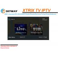 Buy cheap Xtrix  IPTV EPL IPTV Europe IPTV 1000+ live Channels with VOD,Included UK IT DE GR RU EPL WORLD CUP etc. CH from wholesalers