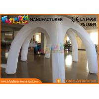 Wholesale White Igloo Clear Inflatable Tent For Wedding / Activities / Party from china suppliers
