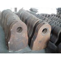 Buy cheap Manganese casting parts hammers, Grates for metal shredder from wholesalers