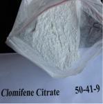 Buy cheap Serm Anti Estrogen Steroids Powder Clomifene Citrate Clomid CAS 50-41-9 from wholesalers