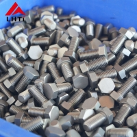 Buy cheap Forged DIN933 DIN931 Gr2 Titanium Hex Bolts from wholesalers
