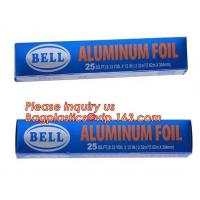 Buy cheap Household kitchen use aluminum foil sheet rolls for food package,Cooking Baking Household Aluminum Foil Paper Rolls from wholesalers