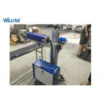 Buy cheap 20 W Wisely Portable Fiber Laser Marking Machine With Ezcad , Fiber Laser Printer from wholesalers