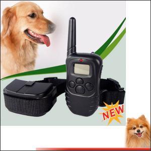 Power Remote dog anti bark collar elecking collar with retail shock device