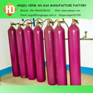 99.999% Argon Gas Manufactures