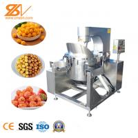 China Short Cycle Popcorn Equipment Small Size Low Heat Power For Snack Food Factory on sale