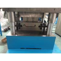 Buy cheap 4KW Main Powet Shutter Roll Forming Machine by Chain 56mm Shaft from wholesalers
