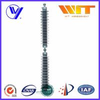 Line Type Transformer Surge Arreste For Power Transmission , Grey Silicone Housing Manufactures