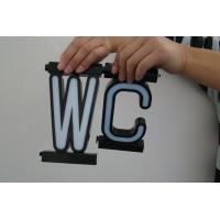 Buy cheap LED Letters Wc Sign from wholesalers