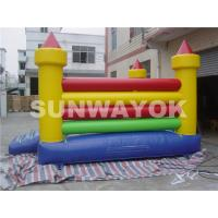 Buy cheap Coconut Tree Commercial Inflatable Bouncers , Jumping Castle bounce house from wholesalers