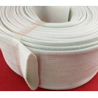 Wholesale Extrusion Silicone Fiberglass Sleeving , Silicone Fiber Glass Sleeves from china suppliers