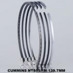 Buy cheap NT855/FM Engine Piston Ring Piston Ring Set Automotive 139.7mm Ceramic Penetration from wholesalers