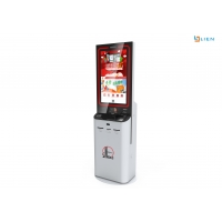 Buy cheap Touch Screen Information Kiosk A4 Paper Printing And Scanning Multi Media Machine from wholesalers
